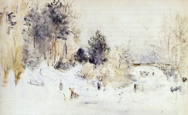Snowy Landscape Aka Frost