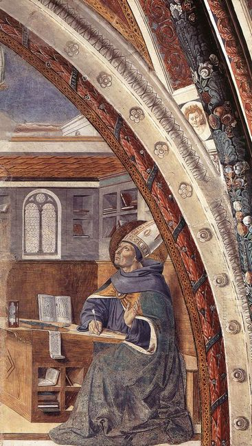 St Augustine S Vision Of St Jerome 1465