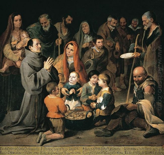 St Diego Giving Alms 1646