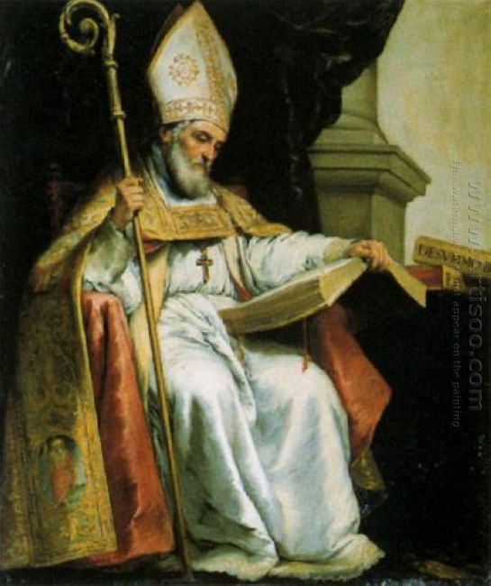 St Isidore Of Seville 1655