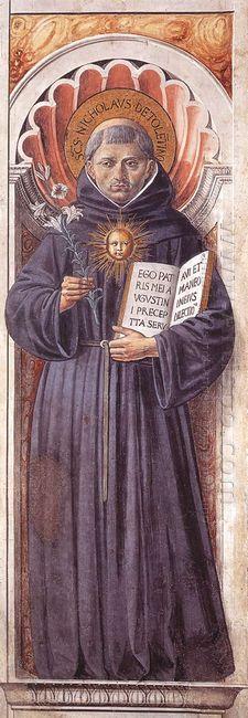 St Nicholas Of Tolentino 1465