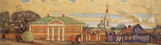 Street In Krutogorsk 1914