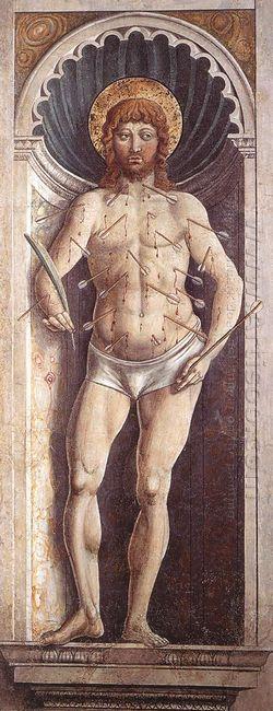St Sebastian 1465