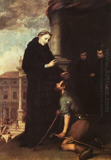 St Thomas Of Villanueva Distributing Alms