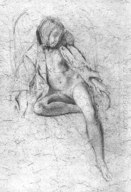 Study For The Painting Nude Resting 1972