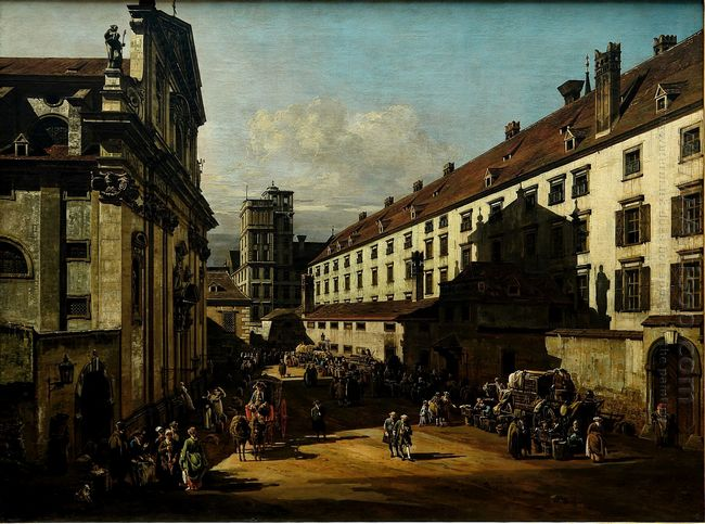 The Dominican Church In Vienna 1758