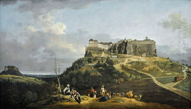 The Fortress Of Konigstein 1758