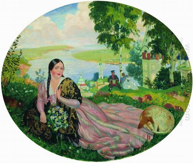 The Girl On The Volga 1919