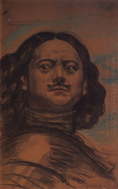 The Head Of Peter The Great 1910