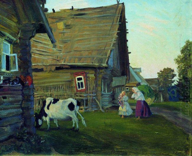 The Hut Kostroma Province 1917