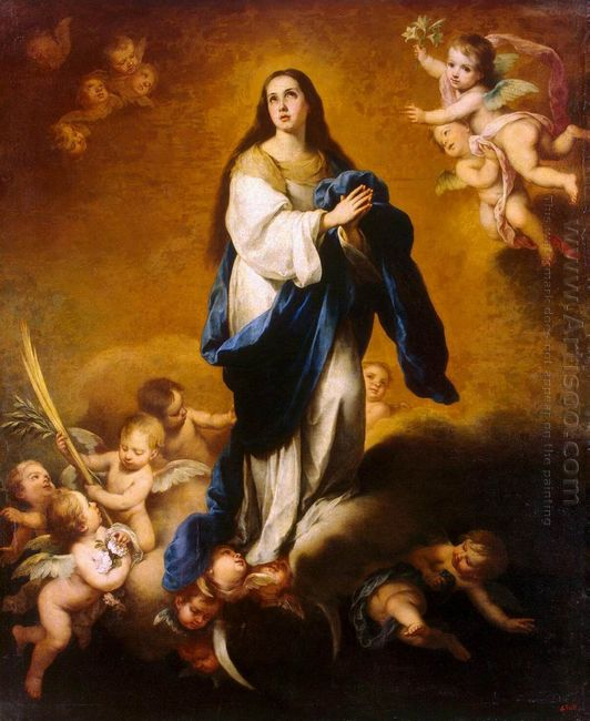 The Immaculate Conception Oil On Canvas