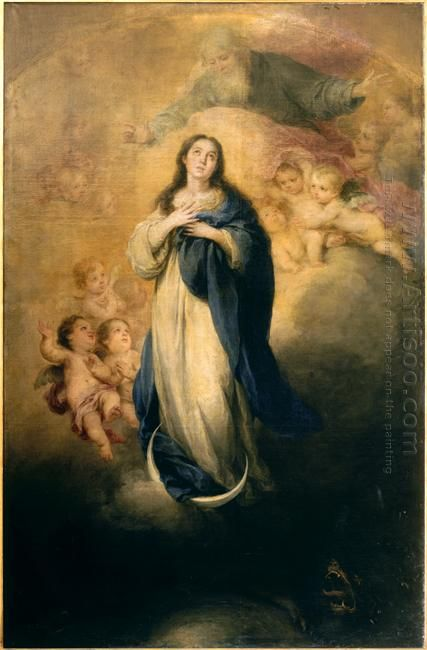 The Immaculate Conception With The Eternal Father