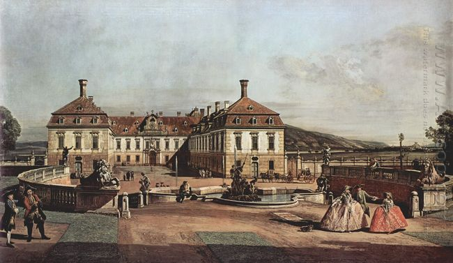 The Imperial Summer Residence Courtyard 1758