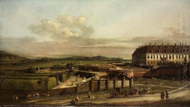 The Imperial Summer Residence Courtyard View From North 1758