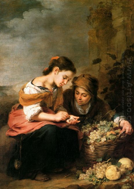 The Little Fruit Seller 1675