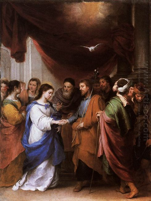 The Marriage Of The Virgin 1670