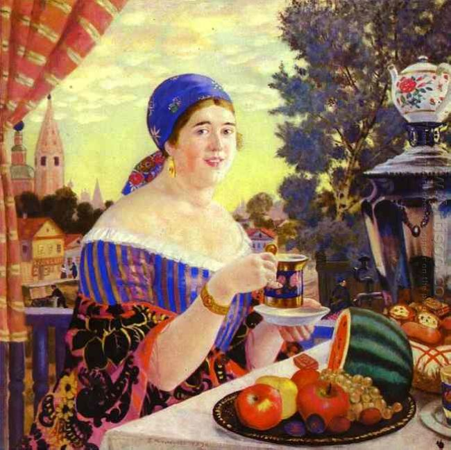 The Merchant S Wife At Tea 1920