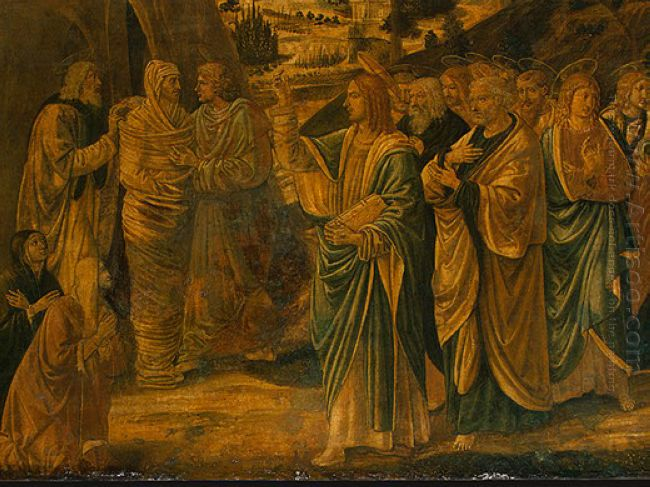 The Raising Of Lazarus Detail