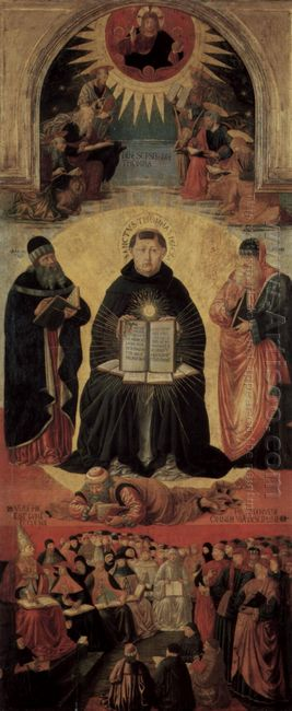 The Triumph Of St Thomas Aquinas 1484