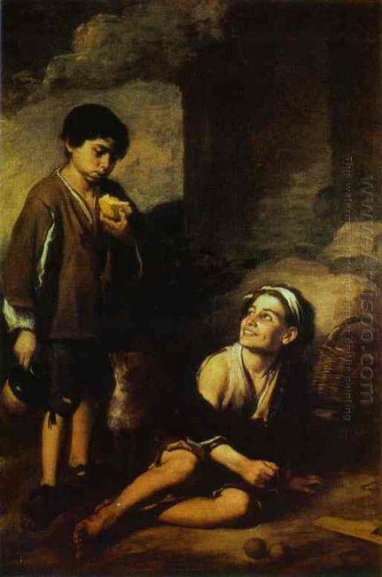 Two Peasant Boys 1670