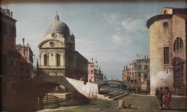 Venetian Capriccio View Of Santa Maria Dei Miracoli