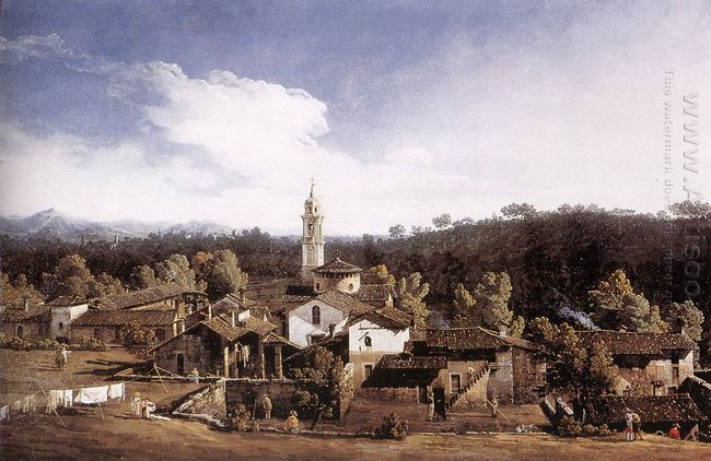 View Of Gazzada Nevarese 1744