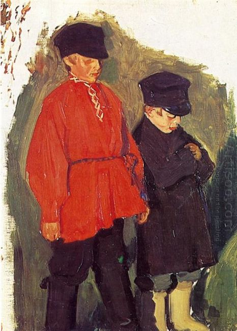 Village Boys 1905