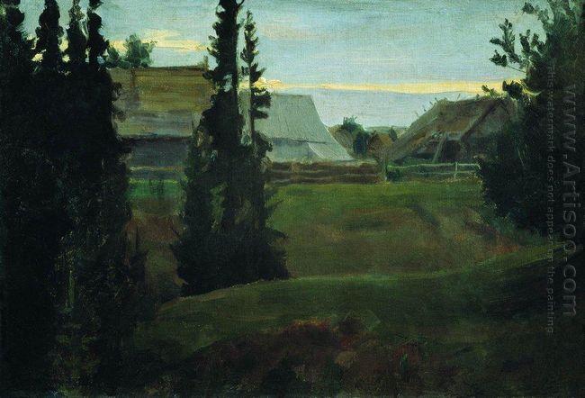 Village Maureeno Kostroma 1905