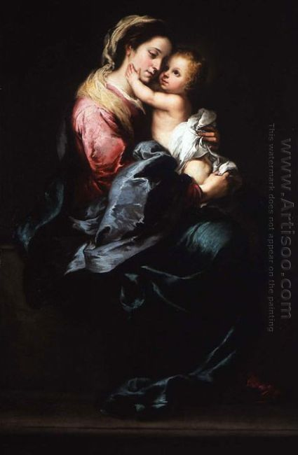 Virgin And Child 1650