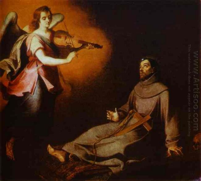 Vision To St Francis 1646