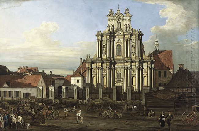 Visitationist Church In Warsaw 1780