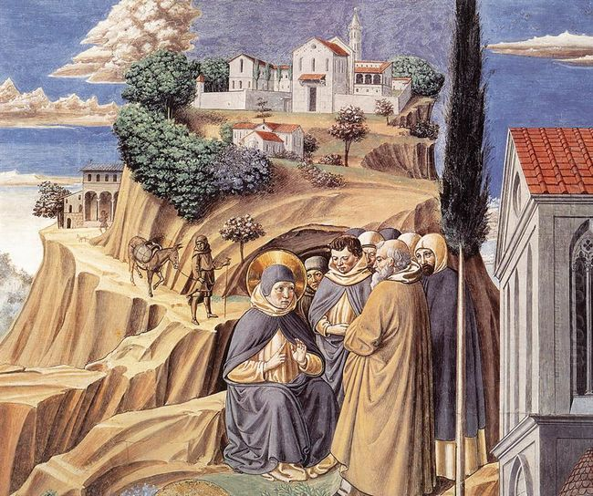 Visit To The Monks Of Mount Pisano 1465