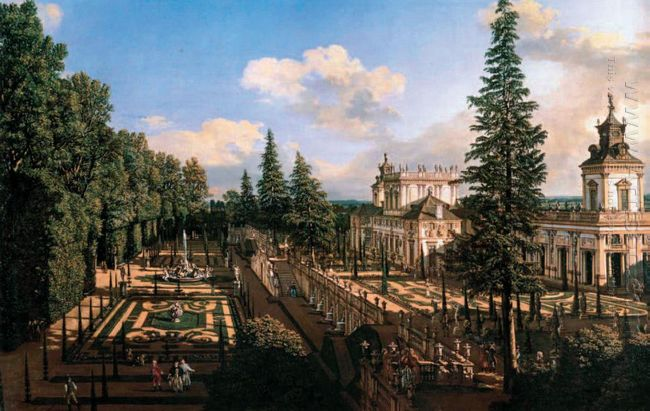 Wilanów Palace As Seen From North East 1777