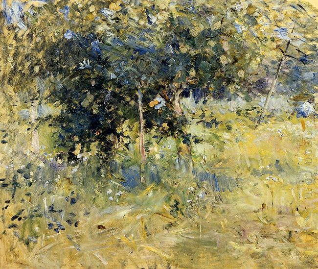 Willows In The Garden At Bougival