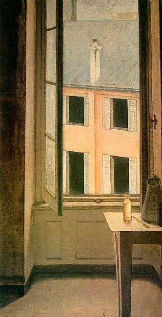Window Cour De Rohan 1951