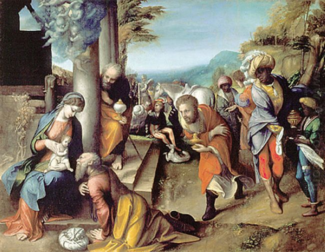 Adoration Of The Magi 1517