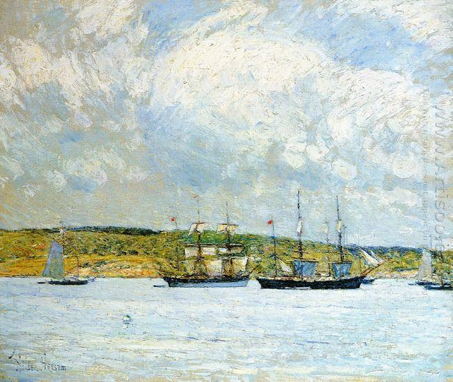 A Parade Of Boats 1895
