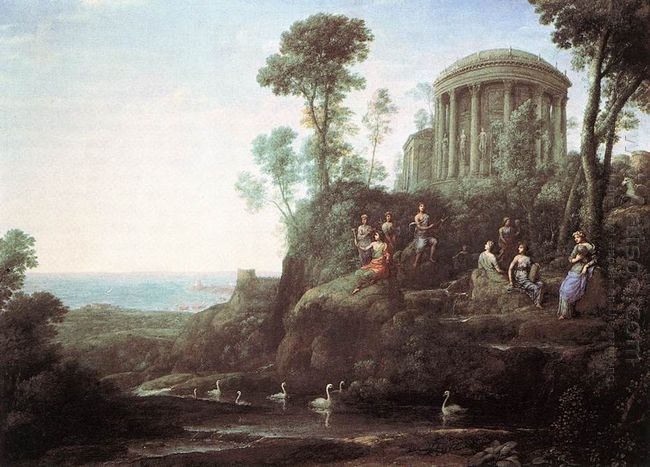 Apollo And The Muses On Mount Helicon 1680