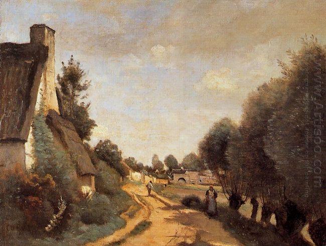 A Road Near Arras Cottages