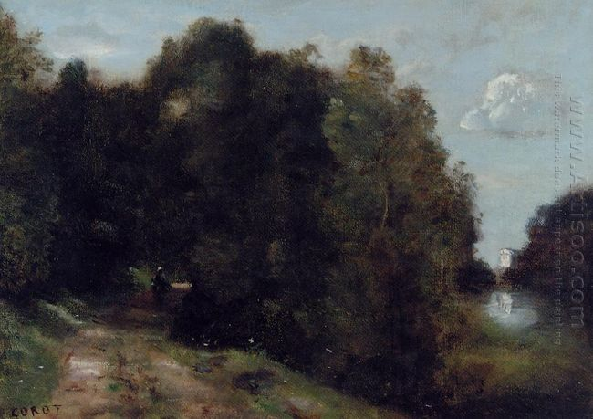 A Road Through The Trees 1870
