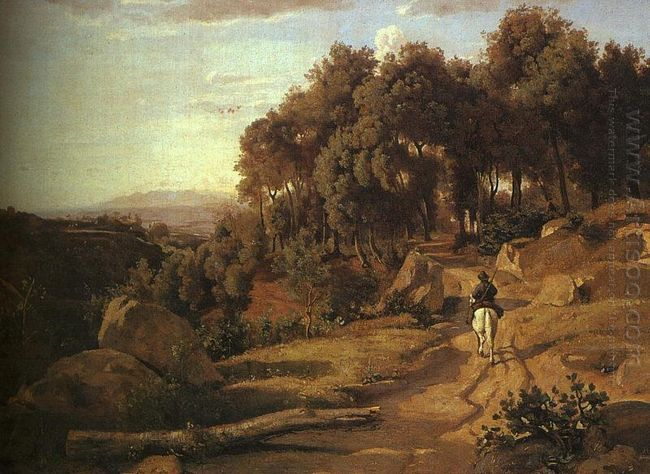 A View Near Colterra 1838