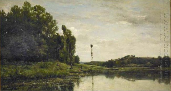 Banks Of The Oise 1863