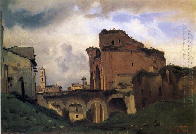 Basilica Of Constantine 1828