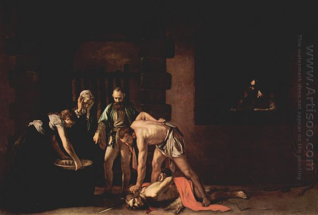Beheading Of Saint John The Baptist 1608
