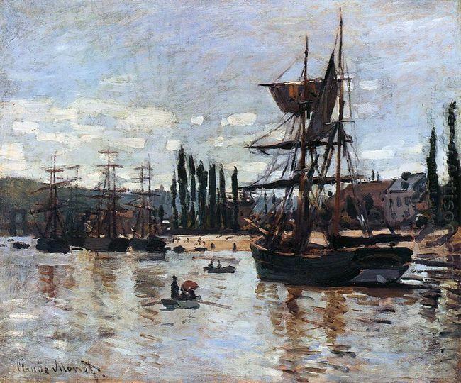 Boats At Rouen