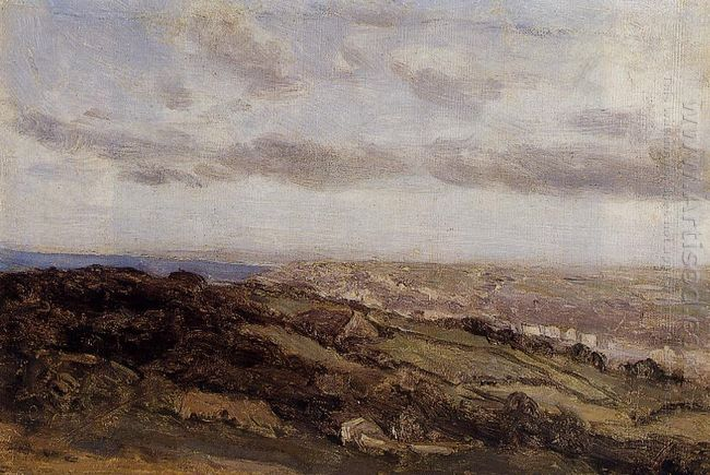 Bologne Sur Mer View From The High Cliffs 1860