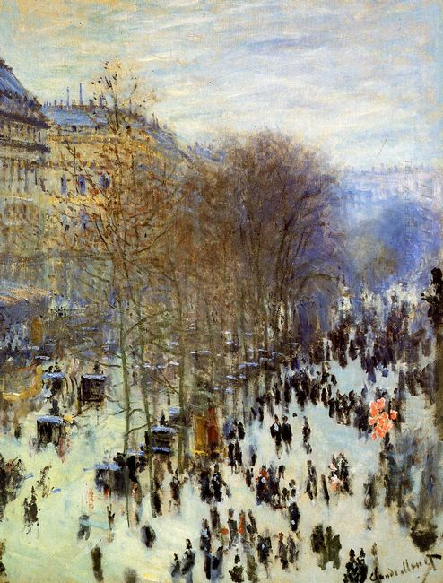 Boulevard Of Capucines 1874