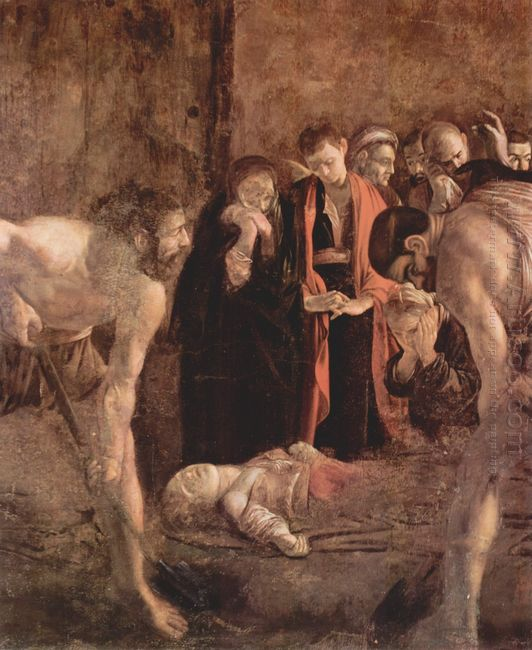 Burial Of Saint Lucy 1608
