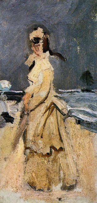 Camille On The Beach 1871