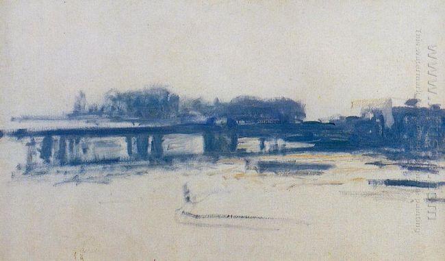 Charing Cross Bridge Study 1901